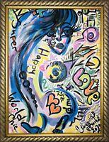 Margarita Bonke Malerei PAINTING Bild erotica erotika akt Street Art Graffiti Nu