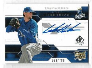 2008 SP Authentic - Base Autograph #146 Luke Hochevar #699/798 - Royals