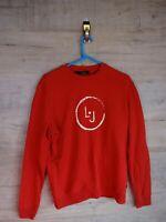 vtg 90s 80s liu jo Graphic sweatshirt sweater jumper refA8 medium/large