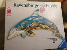 Ravensburger 3 FT Picture Dolphin 1000 Piece Jigsaw Puzzle
