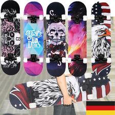 Soldow 31x8Zoll Skateboard Komplettboard 7Lagigem Ahornholz Cruiser Skateboard.