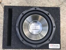 Infinity 10 Inch Reference Subwoofer In Vented Atrendusa Bbox EUC Tested