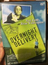 Overnight Delivery ex-rental region 4 DVD (1998 Reese Witherspoon comedy movie)