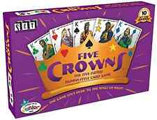 Hot Best Five Crowns Rummy Suited Card Fun Classic Game Original Family 5 Suites