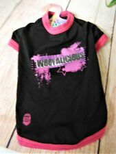 """New listing Pet Head-Only for Cool Dogs T-Shirt >""""Woof-Alicious&# 034; >Sz M > Nos >Way Cool!"""