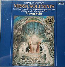 BEETHOVEN Missa Solemnis Solti 2 LP Box DECCA 635410 Sealed Ovp
