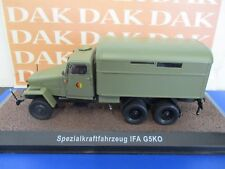 Die cast 1/43 Modellino Camion Militare IFA G5K0 NVA Army DDR