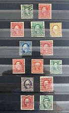 Old Group Of Vintage US Imperforate Stamps