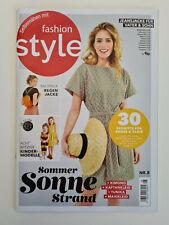 Fashion Style Nr.8/2020 August,Sommer Sonne Strand  mit Schnittmuster NEU