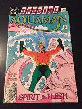 Aquaman Special#1 Incredible Condition 8.5(1988) Freeman, Pacella Art!!