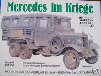 Mercedes im Kriege Waffen-Arsenal Band 94 Podzun-Pallas Verlag 1985 Band 94