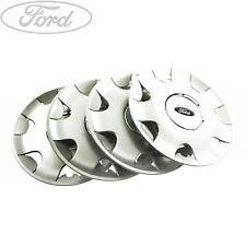 "Genuine Ford Focus Fiesta Mondeo Ka 14"" Inch Wheel Trim Set of 4 1151372"