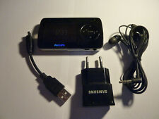 Philips  Go Gear 4gb FM mp3 mp4 player SA6045 with accessories - Free shipping