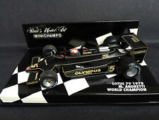Minichamps - Mario Andretti - Lotus - 79 - 1978 - World Champion - Rare