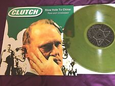 Clutch –Slow Hole To China  RARE MARBLED GREEN VINYL LP stoner rock