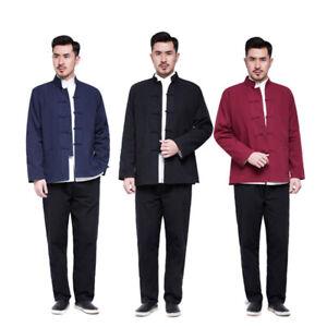 2pcs Kung Fu Wing Chun Uniform Martial Arts Suit Taichi Clothes Outfit Tang Suit