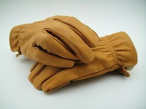 NEW Leather GLOVES MOTORCYCLE Riding STEVE McQUEEN Ranch Roper Work Classic VTG