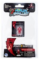 World's Smallest Mighty Morphin Power Rangers Micro Action Figures: Red Ranger