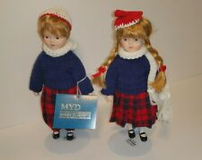 Collectable MYD Marian Yu Designs Heirloom Porcelain Dolls Authentic Dec.1987