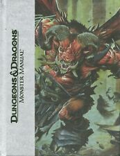 Book - DUNGEONS & DRAGONS MONSTER MANUAL 4th Edition Deluxe - Hardcover 2008