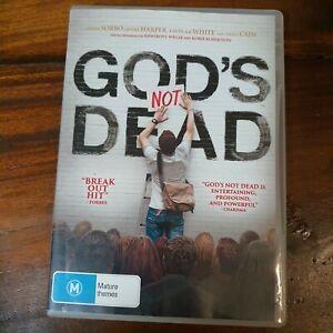 God's Not Dead (DVD, 2015) Very Good Condition Pureflix
