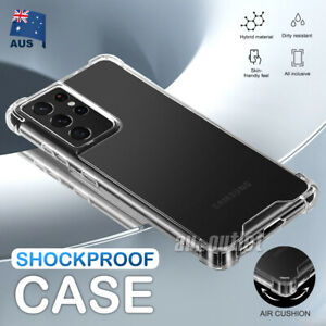 For Samsung S21 Ultra S20 S10 S9 Note 20 5G Case Shockproof Tough Bumper Cover