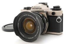 【N MINT+++】Olympus OM-4 Ti 35mm SLR Film Camera Vivitar 17mm f/3.5 From JAPAN