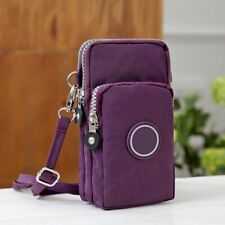 Shoulder Bag Cross-body Mobile Phone Pouch Case Belt Handbag Purse Wallet Mini