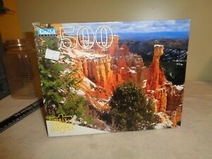 Vintage Jigsaw Puzzle GuildAgua Canyon Utah50015x18Sealed box complete NOS