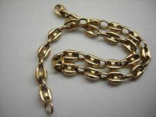 585er Schmuck Altgold Bruchgold Bohnen-Armband * in Gelbgold