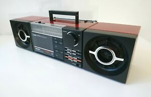 Philips Cubic Compo D8254/00 Vintage Boombox, Stereo Radio - Works Perfectly!