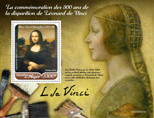 Niger  2019  Paintings of Leonardo da Vinci , Mona Lisa  S201912