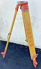 Servco Wooden Surveying Tripod Levels Amp Surveying Equipment Heavy Duty