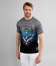 American Fighter by Affliction Short Sleeve T-Shirt Mens KENDLETON Gray
