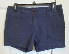 Dalia Collection Modern Fit Casual Black Shorts Womens Size 6 Cotton Blend