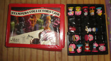 Lot Vintage 1980-84 Mattel Poochie Cabbage Patch Shirt Tales Stampers in Case
