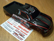 NEW 6708 Traxxas 4x4 Brushless VXL Stampede Black Red Body / Also Fits Xl-5 2wd