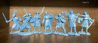 Soldatini e figurini di Publius Cavalieri medieval Plastica gommata morbida 1/32