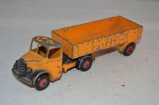 Dinky Toys 521 Bedford articulated lorry van in played with condition