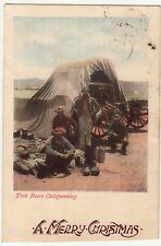 CGH: Postcard, Trek Boers Outspanning: Mowbray-London, 1 Dec 1909