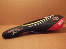 New-Old-Stock Gipiemme Nitrec Gel Saddle with Black/Red/Yellow Color