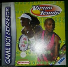 VIRTUA TENNIS - NINTENDO GBA GAMEBOY ADVANCE NUOVO Game Gioco Game Boy