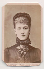 Vintage CDV Queen Alexandra of Great Britain W & D Downey Photo