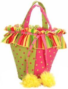 Princess Paradise Carnival Clown Tote Bag Treat Purse Child One Size Accessory