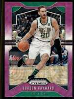2019-20 Prizm Purple Wave Prizm Gordon Hayward Celtics #42
