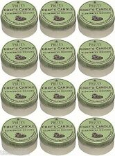 12 x Prices Chefs Scented Candle Tin Lid Eliminates Kitchen Cooking Odours