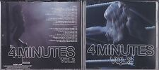MADONNA 4 MINUTES VOLUME 2 PROMO DOUBLE REMIX CD'S