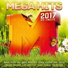 MegaHits 2017, la seconda (Sean Paul, Robin Schulz, Afrojack,...) 2 CD NUOVO