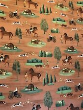 """COUNTRY STORE  Wyndam quilters cotton Fabric per yd sew craft 44"""""""