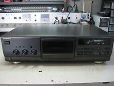 PIASTRA A CASSETTE  TECHNICS  RS- BX 601  USATA VINTAGE